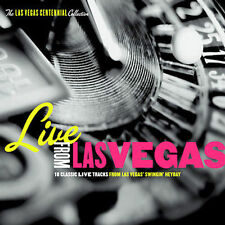 Live From Las Vegas CD The Las Vegas Collection Digipak 18 Classic Tracks