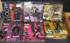 MCFARLANE FIGURE LOT RAVEN SPAWN SHE-SPAWN 2 SHADOW HAWK BLACKTHORN Z2