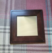 Framed Vintage Wooden Display Mirror - Marks and Spencer