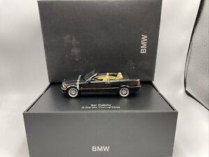 1/43 Minichamps BMW Dealer Edition 3 Series Cabriolet Black Part # 80420009755