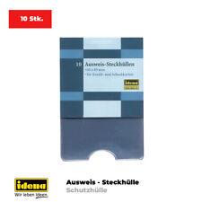 TOP Ausweissteck-Hüllen 10 Stk. Kreditkarten Scheckkarten Bankkarte Schutzhülle