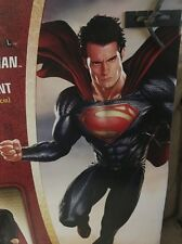 2013 Superman Man of Steel Giant Size Figure 31 inches Tall New