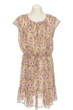 Geblümte Esprit Damenkleider aus Viskose