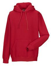 Russell Hooded Men's Casual Hoodie Sweatshirt L Classic Red