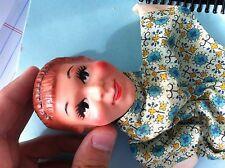 Vintage Hazelle Hand Puppets, Set of 3