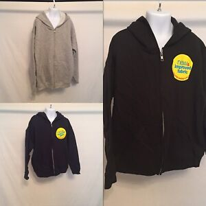 Hanes boys' tagless soft sweat hoodie jackets COLOR SIZE options