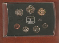 2002 Canada Specimen Mint Set with rare loon dollar with box and coa card