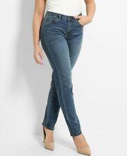 Dark Blue Denim Jeans New Regurlar Size 12 George Bnwt