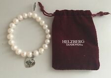 Helzberg Diamonds I AM LOVED Cultured Pearl Bracelet with Sterling Silver Clasp