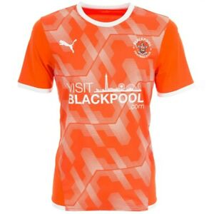 Blackpool FC 2021/22 Home Shirt - Size Medium Mens