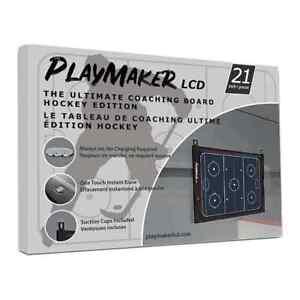 """Playmaker 21"""" LCD Digital Hockey Coaching Board! Coach Coaches Coaching Ice Tool"""