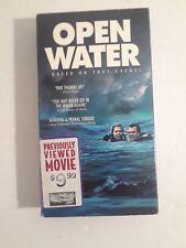 Open Water VHS Movie Shark Movies Horror