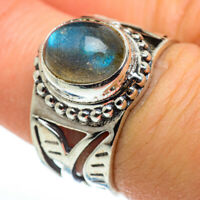 Labradorite 925 Sterling Silver Ring Size 7 Ana Co Jewelry R46410F