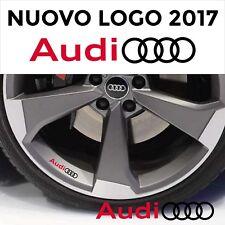 ADESIVI AUDI CERCHI SPECCHIETTI auto 4 stickers A3 A4 A5 A6 Q3 Q5 Q7 TT Sline