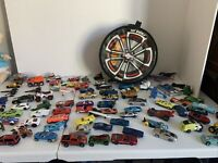 Hot Wheels Zip Bin Carry Case, With Miscellaneous car lot