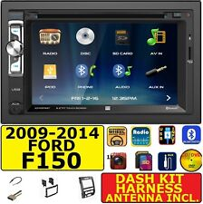 2009-2014 FORD F-150 CD/DVD BLUETOOTH USB AUX SD CAR RADIO STEREO PACKAGE