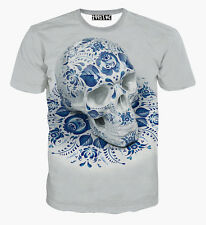 3D Print Patterned Fashion Soft Thin Men's Cotton + Polyester Funny T-Shirt Top