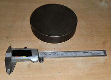 """Billete De Hierro Fundido de 4.800"""" de diámetro x 1.075 de espesor, buena calidad, ningún golpe agujeros"""