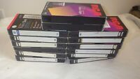 Lot Of 14 Pre-Recorded Mix Label T-120  VHS Tapes Sold As Is Used Blanks Lot CG