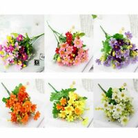 1 Bunch 28 Head Artifical Silk Chrysanthemum Flowers Bouquet Vtality Decor UK a