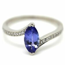 Tanzanite Engagement Cocktail Natural Stone Fine Rings
