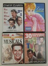 Lot of (4) Movie / TV DVD Sets - 20 Musicals, 30 Family TV, 8 Comedy, 30 Lucy