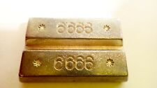 """PLAYMOBIL """"GOLD BARS"""" INGOTS From Sets 3037 3161 4402 5734 7446"""