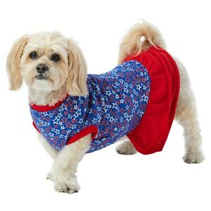 Americana Stars Dog Dress - XS S M - 4th of July - Patriotic - Top Paw - NWT