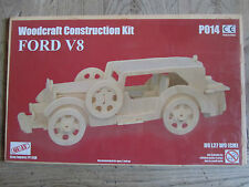 WOODCRAFT CONSTRUCTION KIT FORD V8  NEW AND SEALED