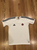 TEAM CANADA ADIDAS National Team Soccer Futbol Shirt Jersey Men's Small S White