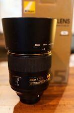 Nikon NIKKOR AF-S 105 f/1.4 E ED Lens