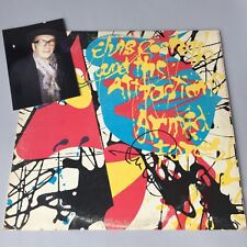 ELVIS COSTELLO In-person  signed Schallplatte/Vinyl Autogramm RARITÄT !!!