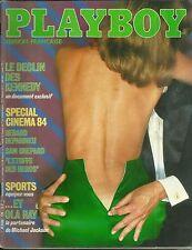 MAGAZINE - PLAYBOY 1984 / LES KENNEDY, PEUGEOT 205 GTI, MICHAEL JACKSON, SHEPARD