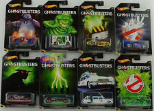 GHOSTBUSTERS Set 8 PC/LECIO 1/1:64 HOT WHEELS USA dwd94-12