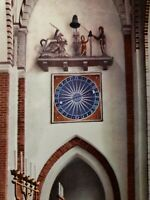 THE CATHEDRAL ROSKILDE Denmark post card W5