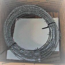 50 Ft BarbWire Stronger 15.5 Gauge 5 pt Barb Wire  NEW
