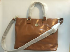 Tory Burch brown Dena tote bag leather - Original and brand new!
