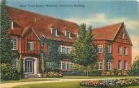 Omaha Nebraska~Father Flanagans Boys Home Eagles Memorial Apartment Bldg~1940s