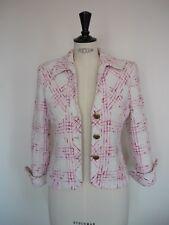 CARA LOTTI - Veste coton rose/blanc - 38