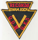 WARTIME ARVN RANGER II CORP RECONDO POCKET PATCH (673)