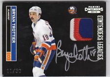 Bryan Trottier 11/12 Panini Contenders Legacies Patch Auto SP /50