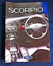 FORD SCORPIO 1996 Prestige Sales Brochure