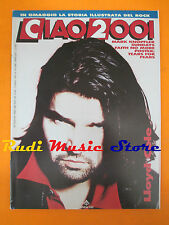 rivista CIAO 2001 14/1990 POSTER Tears For Fears Lloyd Cole Mark Knopfler *No cd