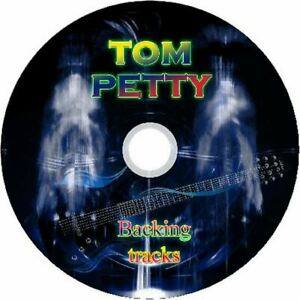 TOM PETTY  GUITAR BACKING TRACKS CD GREATEST HITS BEST OF ROCK MUSIC