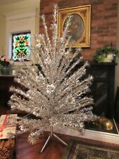 NIce 94 Branch Vintage Evergleam 6' Aluminum Christmas Tree