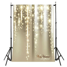 5x7FT Vinyl Photography Backdrop Photo Background, Christmas Starlight D1L7