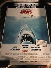Jaws Movie Poster 24x36 Steven Spielberg