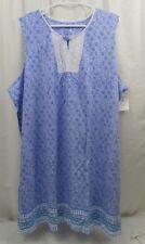 Women's Croft & Barrow Lace Trim Nightgown    3X