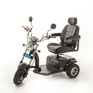 Trident American Hot Rod 3 Wheel Electric Mobility Scooter – 23 st. Capacity