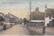 THE VILLAGE, WHITCHURCH, NEAR CARDIFF - 1908 POSTCARD (ref 1743/20/G7)